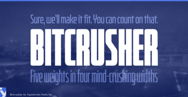Bitcrusher [20 Fonts] | The Fonts Master