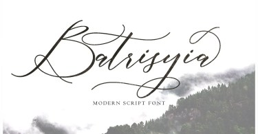 Batrisyia Script [2 Fonts] | The Fonts Master
