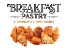 Breakfast Pastry [3 Fonts] | The Fonts Master