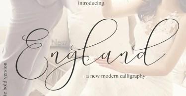 England Script [2 Fonts]   The Fonts Master