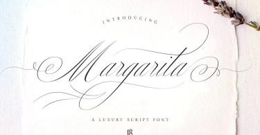 Margarita Script [1 Font] | The Fonts Master