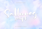 Salloomeg Script [1 Font] | The Fonts Master