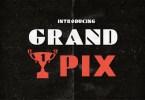 Grand Pix [1 Font] | The Fonts Master
