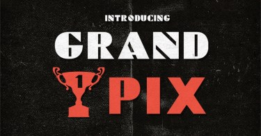 Grand Pix [1 Font] | The Fonts Master