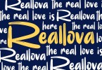 Reallova [1 Font] | The Fonts Master