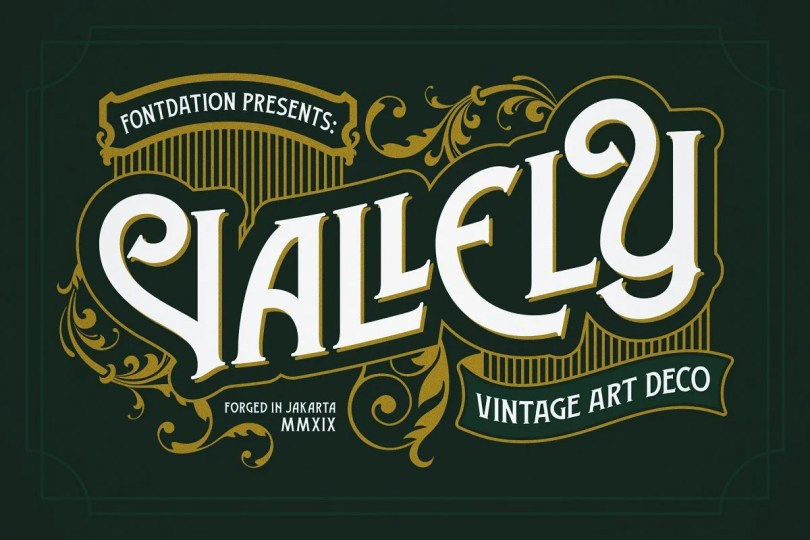 Vallely [2 Fonts] | The Fonts Master