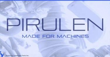 Pirulen [12 Fonts] | The Fonts Master