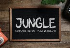 Jungle [1 Font] | The Fonts Master