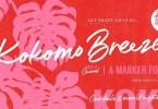 Kokomo Breeze [1 Font] | The Fonts Master