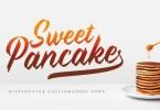 Sweet Pancake [2 Fonts] | The Fonts Master