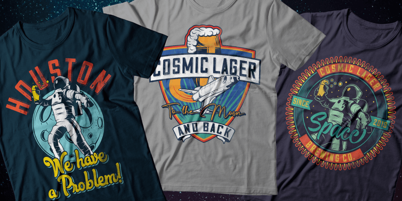 Cosmic Lager [8 Fonts] | The Fonts Master