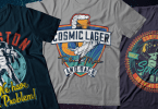 Cosmic Lager [8 Fonts]