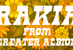 Rakia [1 Font] | The Fonts Master