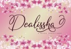 Dealissha [1 Font] | The Fonts Master