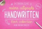 Handwritten Font Collection By Julia Dreams [10 Fonts + Extras] | The Fonts Master