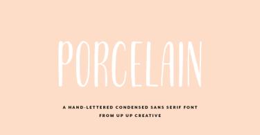 Porcelain [1 Font]