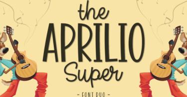 The Aprilio Super [2 Fonts] | The Fonts Master