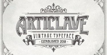 Articlave + Extras [3 Fonts &Amp; Extras] | The Fonts Master