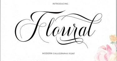 Floural [1 Font] | The Fonts Master