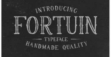 Fortuin [1 Font] | The Fonts Master