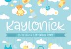 Kaylonick [1 Font] | The Fonts Master