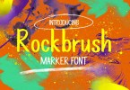 Rockbrush [1 Font] | The Fonts Master