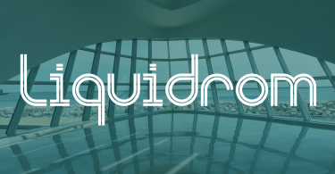 Liquidrom [2 Fonts] | The Fonts Master