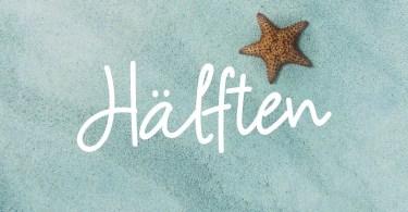Halften [1 Font] | The Fonts Master