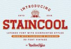 Staincool [6 Fonts] | The Fonts Master