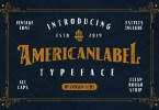 American Label [3 Fonts] | The Fonts Master