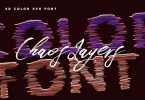 Chaos Layers Color Font [2 Fonts] | The Fonts Master
