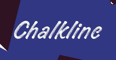 Chalkline [1 Font] | The Fonts Master