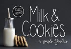 Milk &Amp; Cookies [3 Fonts] | The Fonts Master