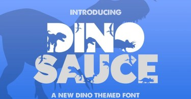 Dinosauce [1 Font] | The Fonts Master
