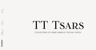 Tt Tsars Super Family [20 Fonts] | The Fonts Master