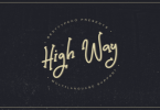 High Way [1 Font] | The Fonts Master