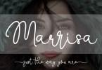 Marrisa Script [1 Font] | The Fonts Master