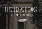 The Secret Door [1 Font] | The Fonts Master