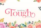 Tough [2 Fonts] | The Fonts Master