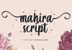 Mahira [1 Font] | The Fonts Master