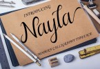 Nayla [1 Font] | The Fonts Master