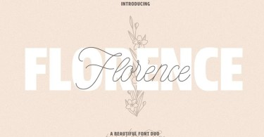 Made Florence [2 Fonts] | The Fonts Master