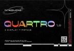 Quartro [2 Fonts] | The Fonts Master