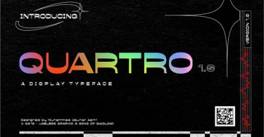 Quartro [2 Fonts] | The Fonts Master