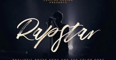 Rapstar [2 Fonts] | The Fonts Master