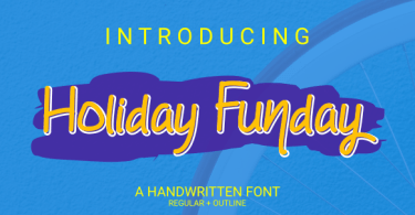Holiday Funday [2 Fonts] | The Fonts Master