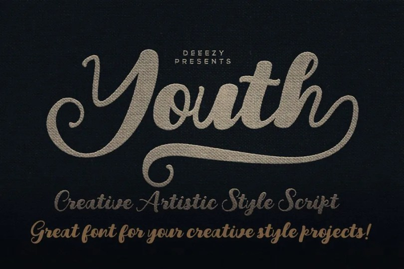 Youth Script [1 Font]   The Fonts Master