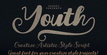 Youth Script [1 Font] | The Fonts Master