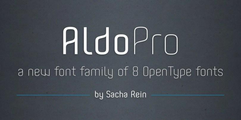 Aldo Pro Super Family [8 Fonts]   The Fonts Master