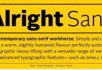 Alright Sans Super Family [16 Fonts] | The Fonts Master